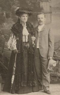 Надежда Сулина и ее сын Сергей Сулин