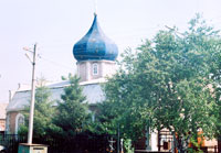 Свято-Георгиевский храм в селе Кулешовка