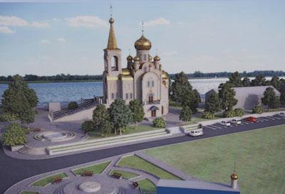 Храм святого великомученика и целителя Пантелеимона. Проект