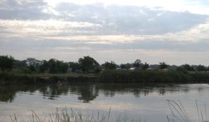 Солёное озеро Пеленкино Азовский район