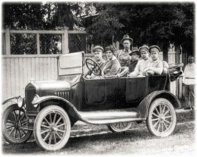 Участники продотряда Г.Вэра в июне 1922 года. в п.Тойкино