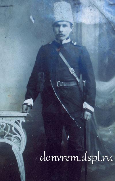М. Е. Бурдюгов. Из семейного архива Л. М. Бурдюгова