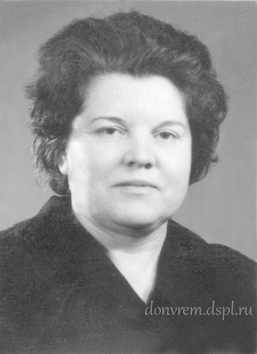 Директор краеведческого музея Л. А. Цымбал. 1972 г.