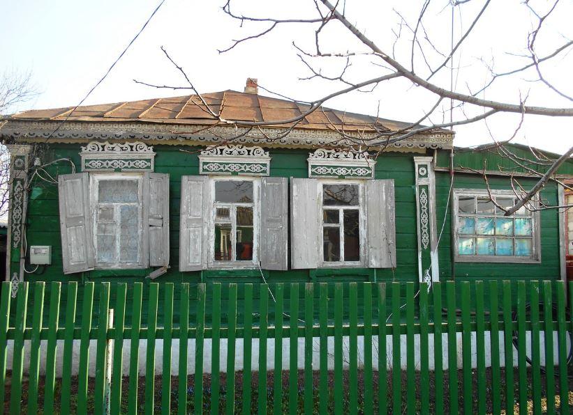 Курень в станице Кривянской
