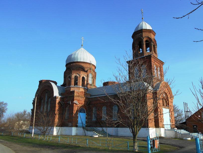 Покровская церковь станицы Кривянской