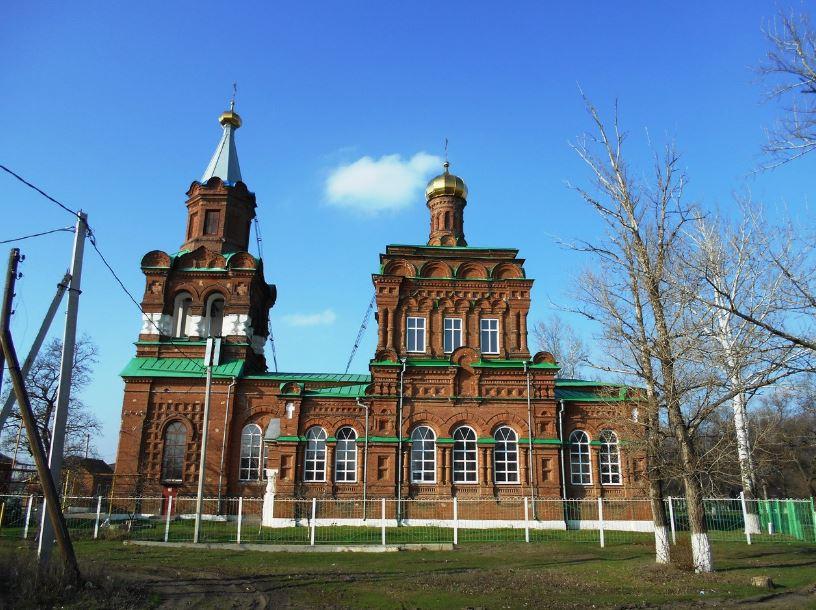 Тихоновская церковь станицы Кривянской