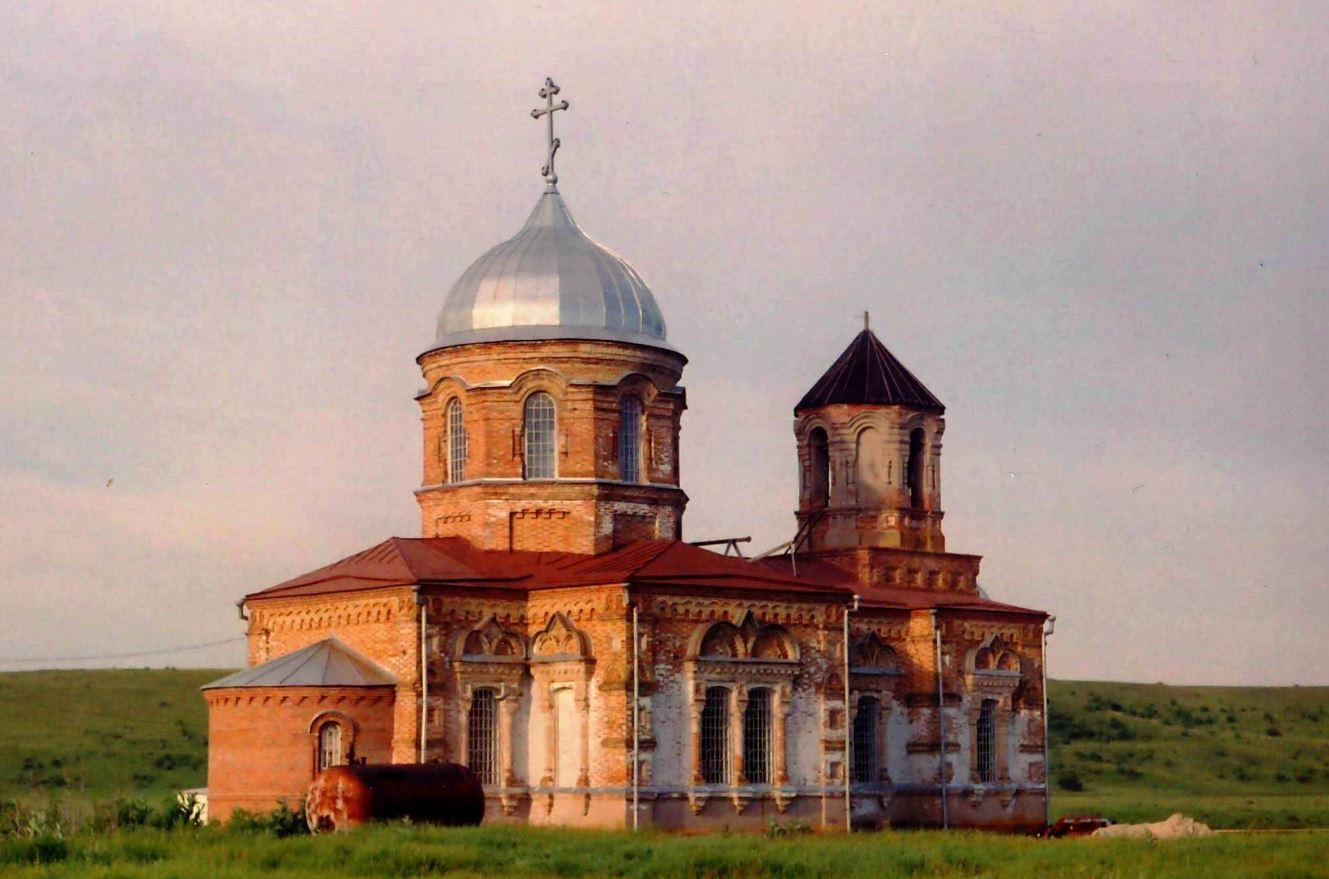 Церковь Рождества Пресвятой Богородицы. Фото 2004 г.