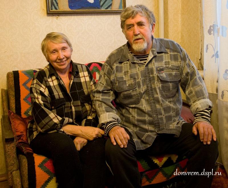 Токарев А. П. с женой Галиной Андреевной