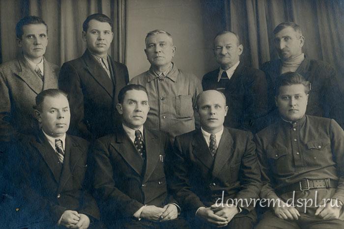 Группа инженерно-технических работников масло-жирового комбината «Рабочий»