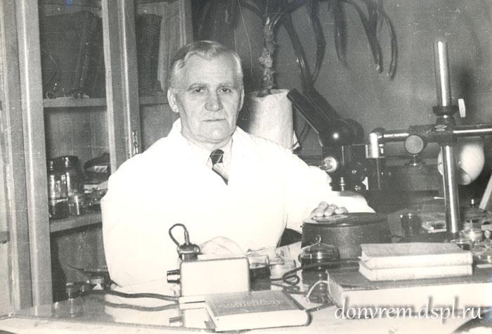 Пётр Андреевич Соколов, профессор Ростовского мединститута