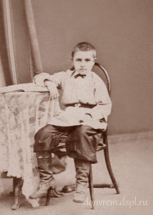 Пётр Попов. Фото 1875 г.