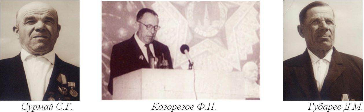 Сурмай С.Г., Козорезов Ф.П., Губарев Д.М.