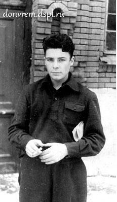 Студент Г. Никольский. Ростов, 1948 г.