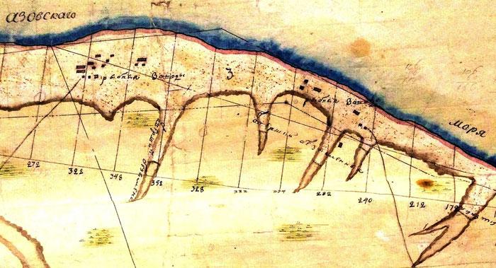 Стеф-Дар на карте Черкасского и Ростовского округов 1880 года