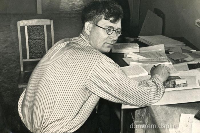 Б. В. Чеботарёв. 1950-е годы. Фото автора