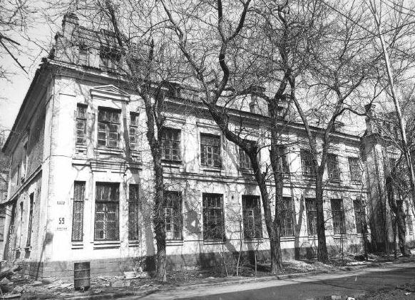 Береговая, 59. Здание общества Юго-восточной железной дороги