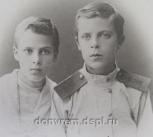 Василий и Александр Ажиновы ГАРО. Ф. 841, оп. 1, д. 2