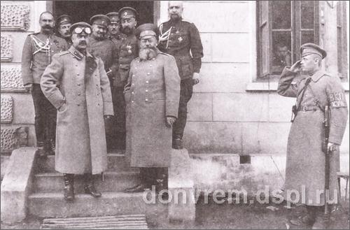 КАЛЕДИН В штабе 18-го корпуса, 1916 год