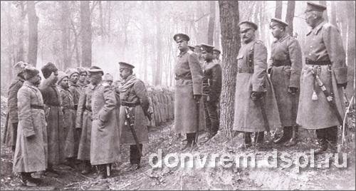 КАЛЕДИН и Брусилов на фронте
